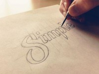 Simple Sketch by Sean McCabe | Typography
