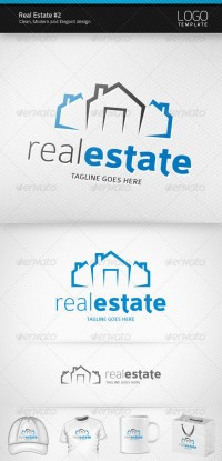 Logo Templates - Real Estate Logo #2 | GraphicRiver