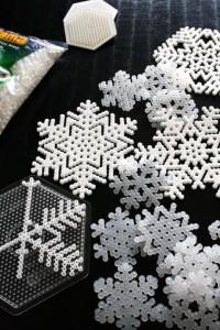 Snöflingor av pärlor | DIY or DIE