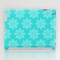 Blue Flakes iPad Case by Anchobee | Society6