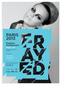 Fashion Poster #graphic #design Frayed - #Paris 2013 | Graphic Design