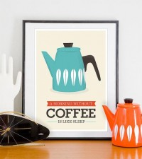 Coffee poster art by handz - Inspiration DE