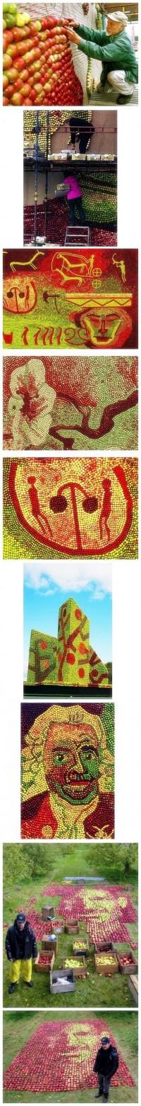 Apple mosaic