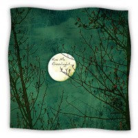 (99+) Art Fleece Throw Blanket - Kiss Me Goodnight - Robin Dickinson from KESS InHouse on OpenSky