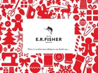 E.R. Fisher Menswear 2011 Christmas Card by mandira midha
