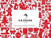 E.R. Fisher Menswear 2011 Christmas Card by mandira midha
