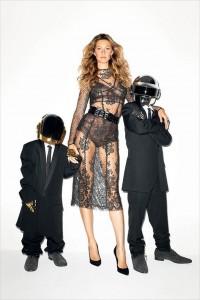 Gisele Bundchen and Daft Punk by Terry Richardson | WSJ Magazine - CzytajNiePytaj - Magazyn Online. Sztuka, Moda, Design, Kultura