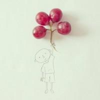 Genialna seria rysunków z wykorzystaniem prawdziwych przedmiotów | Javier Perez - CzytajNiePytaj - Magazyn Online. Sztuka, Moda, Design, Kultura