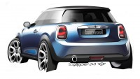 The new MINI - Design Sketch - Car Body Design
