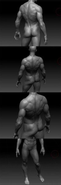 Male body by flcl38 - jang SeongHwan - CGHUB