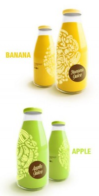 Juice Bottles by Renan Artur Vizzotto on Packaging of the World - Creative Package Design Gallery