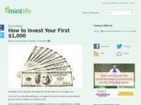 3 Fabulous Ideas For Investing Your First Money - Goldabree
