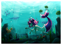 Under the Sea by Pyromaniac