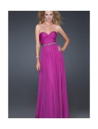 Chiffon Sweetheart Strapless Neckline Column Prom Dress with Beaded Waistline [v1116u1971] - $151.99 : Cheap Prom Dresses,Party Dresses,Evenning Dresses,etc...Online.