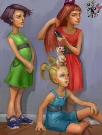 The PowerPuff Girls by ~SoupAndButter