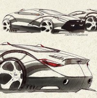 Automotive Design by Marcelo Figueiredo | Inspiration Grid | Design Inspiration