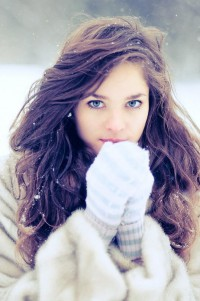 A winter portrait - Inspiration DE