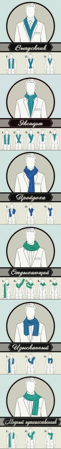 DIY 6 Ways of Wearing a Scarf DIY Projects | UsefulDIY.com