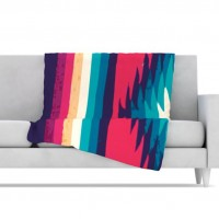 KESS InHouse Surf Fleece Throw Blanket | AllModern