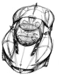 Ken Okuyama Design kode9 Concept Design Sketch - Car Body Design