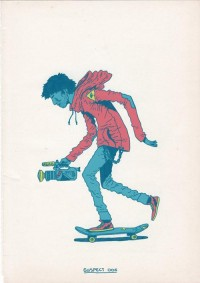 """Skateboarding is a Crime"" by Gerhard Human - What an ART"