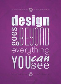 Design goes beyond | Typography - Inspiration DE