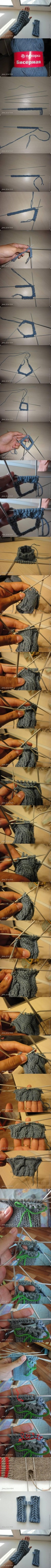 DIY Fingerless Gloves DIY Projects | UsefulDIY.com