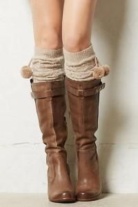 Cabled Leg Warmers - Inspiration DE