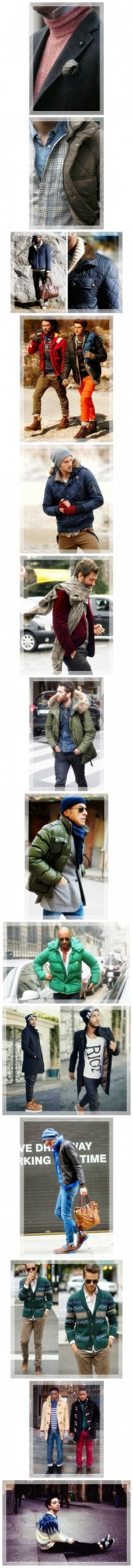 Winter Styling For Man