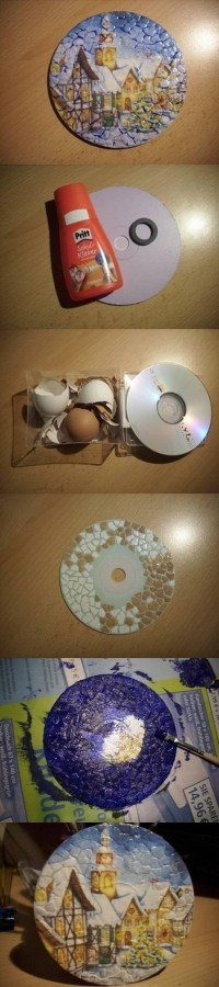DIY Eggshell Decoupage DIY Projects | UsefulDIY.com