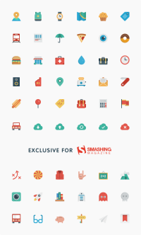 Freebie: Smallicons Icon Set (54 Icons, SVG, PNG, PSD) | Smashing Magazine