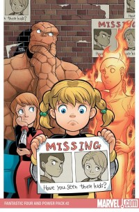 FANTASTIC FOUR AND POWER PACK #2 (of 4)//Gurihiru/G/ Comic Art Community GALLERY OF COMIC ART
