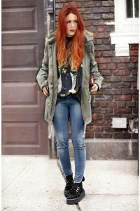 "Alainnbella Jeans, Market HQ Jackets | ""Classic tee & jeans"" by lehappy | Chictopia"