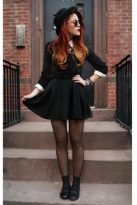 "Black Love Dresses, Black Le Bunny Bleu Shoes, Black AX Jumpers | ""HEY SCHOOLGIRL"" by lehappy 