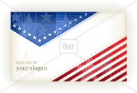 Stars and Stripes, background, business or gift card Stock Illustration - Veer.com