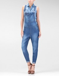 Full length dungarees - JUMPSUITES - COLLECTION -Stradivarius Serbia