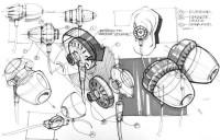 Headphones. | < Design Visualization >