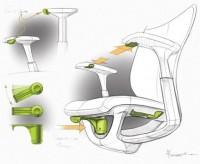 Industrial Design Workchair Tiger Studio   ID - Sketching