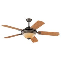 "Shop Sea Gull Lighting 52"" Park Avenue Elite Antique Bronze Ceiling Fan (ENERGY STAR) at Lowes.com"