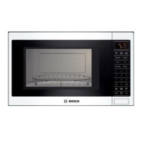 Shop Bosch 1.5 Cu. Ft. Built-In Convection Microwave (Color: White) at Lowes.com
