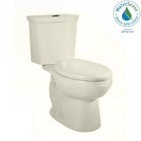 Shop American Standard H2Option Linen High Efficiency WaterSense Elongated 2-Piece Toilet at Lowes.com