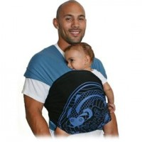 Moby D Wrap Baby Carrier - babyearth.com