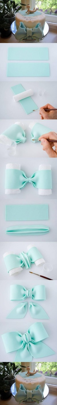 DIY Bow Cake Decoration DIY Projects | UsefulDIY.com