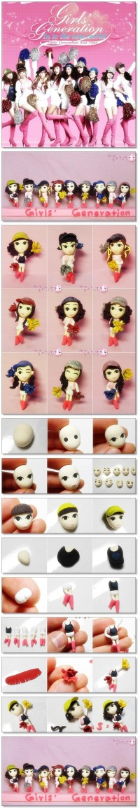Clay Art_girl's generation
