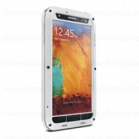 Lovemei Solid Aluminum Bumper Case For Galaxy Note 3 N9000 White