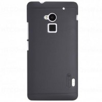 Nillkin Anti Slip Hard Back Cover Case for HTC One Max T6 8808 Black