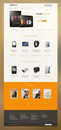 Amazon Redesign - Inspiration DE