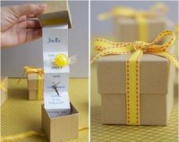 DIY bridesmaid gift box unique