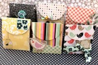 Gift bags (Tutorial & Template)   DIY boxes, envelopes & containers