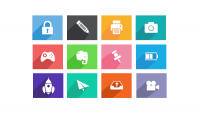 Long Shadow Icons | PixelsDaily